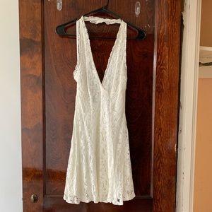 Kimchi Blue Dresses - White lace mini dress